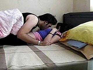 Asian couple enjoy hot passionate sex