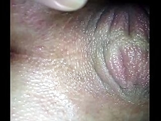 Ass stretched by wife and getting blowjob