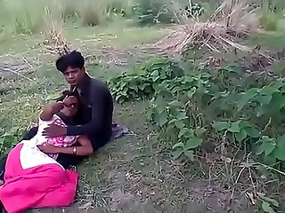 brother fucks two small sister in jungle